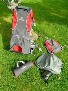 Little Life Voyager S2 Back Carrier-Deluxe Model C/W Sun Canopy & Changing Mat