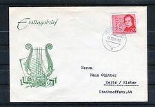 DDR Michel Nr. 529 auf Erstagsbrief - b0706