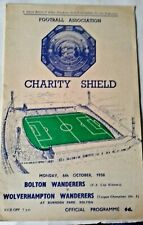 More details for bolton wanderers v wolverhampton wanderers charity shield programme 6/10/1958.