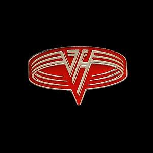 "Van Halen VH 1 1/8"" x .68"" Pin EVH 047-P"