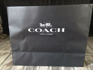 One Authentic Coach Shopping paper bag Black