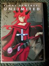Final Fantasy: Unlimited - Phase 5 (DVD, 2004, Reversible Cover) R1 Brand New