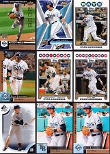 Huge 100 + different EVAN LONGORIA cards lot 3 RC 2008 - 2018 Rays Giants