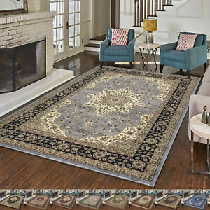 NEW Traditional Rugs Floor Carpets Nonslip Heavy Duty Extra Large Area Runner