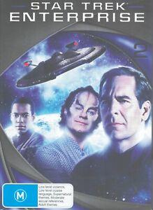 STAR TREK ENTERPRISE Series/Season 2 (7x DVD Box Set) Region 4 Scott Bakula
