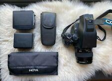 Contax 645 Af Medium Format Film w/ Zeiss 80mm planar lens & filters