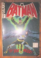 lot de 2 BATMAN GEANT n° 2 et n° 3 - incomplets - 1972