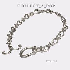 Authentic Kameleon Ice 925 Sterling Silver Fleur De Lis Bracelet  IBR001