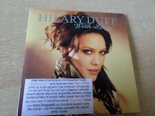 HILARY DUFF with love 1TR  ISRAEL ISRAELI PROMO CD SINGLE HEBREW STICKER