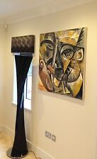 "Original David Aldus Umberto Boccioni ""dynamisme"" Art Nouveau Peinture repro"