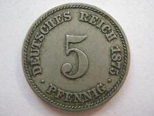 Germany 1875-A 5 Pfennig.
