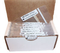 E-Projects - 400 Piece, 16 Value Resistor Kit (10 Ohm - 1M Ohm)