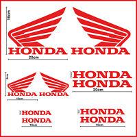 Kit adesivi moto HONDA hornet cbr vfr cb stickers per carena x casco serbatoio