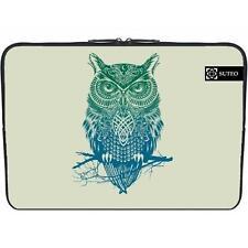 1470 - Funda de neopreno MacBook / portatil 15.6 pulgadas - Dibujo Buho