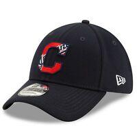 Cleveland Indians New Era 2020 Batting Practice 39THIRTY Flex Hat - Navy