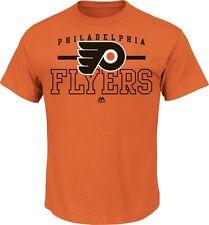NHL T-Shirt Philadelphia Flyers Backcheck Orange Majestic Ice Hockey