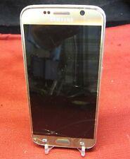 Samsung Galaxy S6 Gold SM-G920A - Bad Glass/Bad Screen/No Image Clean ESN