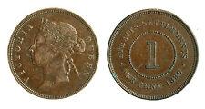 pcc1797_10) British Commonwealth - Straits Settlements 1 Cent 1889