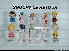 SERIE COMPLETE DE FEVES SNOOPY