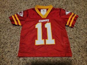 NFL Team Apparel Kid's 2T Kansas City Chief's Alex Smith #11 Jersey Shirt