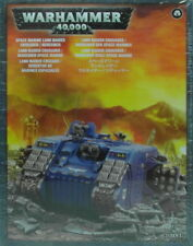 Warhammer 40,000 - Space Marine Land Raider Crusader/Redeemer (48-30)