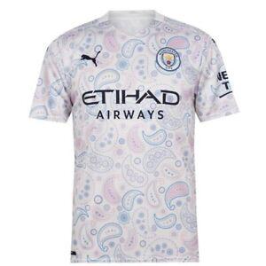 Manchester City 15 Set of Soccer Team Uniform 2020-21 Third Kit