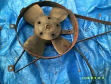 FIAT 124 SPIDER RADIATOR FAN MOTOR AND SHROUD STYLE #3