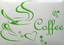 Coffee Cup Kitchen Wall Art Sticker