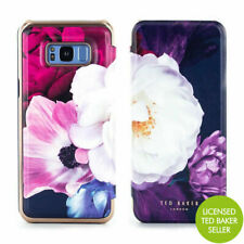 OFFICIAL Ted Baker LANDACE Mirror Folio Case for Galaxy S8+ - Blushing Bouquet