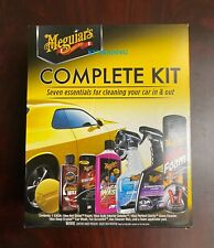 Meguiar's Complete Care Kit - 7 Essentials for Cleaning Wax Detailing Car Truck
