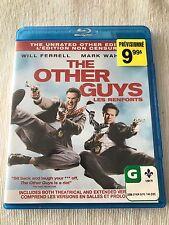 The Other Guys Blu Ray(Original, Like New)Will Ferrell Mark Whalberg Region Free