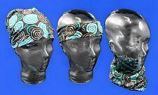 Australian Souvenir Scarf Aboriginal Art Design Unisex Headscarf - RIVERSTONES