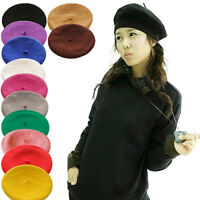 HN- Women Girl Fashion Warm Winter Beret French Artist Beanie Hat Ski Cap Novelt