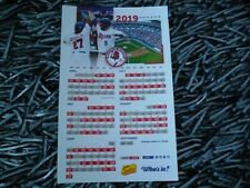 BUFFALO BISONS 2019 Magnet, Pocket Schedules, Toronto Blue Jays, Sahlen Field