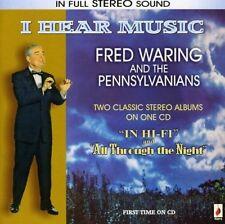 FRED WARING - I HEAR MUSIC  CD NEW+