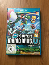 New Super Mario Bros. U (Nintendo Wii U, 2012, DVD-Box)