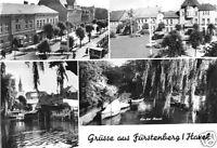 AK, Fürstenberg Havel, Kr. Gransee, vier Abb., 1971