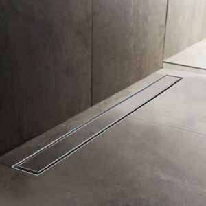 600mm to 1500mm Stainless Steel Wetroom Shower Drain Channel Trap Gully (#9)