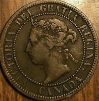 1896 CANADA LARGE 1 CENT PENNY