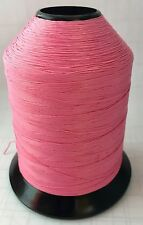 Vintage Gudebrod NCP Rod Building Thread #1927 BUBBLEGUM 4 oz Size D 2300 Yd,