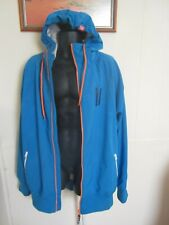 """PLANKS """"Ride In"""" Soft Shell Hooded Ski Snow Wind Tech Jacket XL EUC. Rrp. $280"""