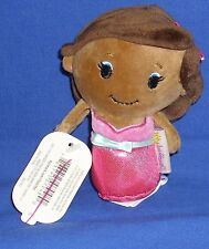 Retired Hallmark Itty Bittys African American Barbie 2016 Bean Bag Plush NWT