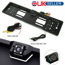 170° HD Car Rear View Reverse Back Up IR Infrared LED Light Number Plate Camera