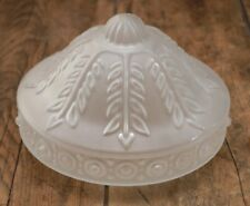 """ANTIQUE CEILLING FROSTED LIGHT GLOGE LAMP SHADE 8"""" FITTER"""