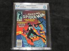 THE AMAZING SPIDERMAN 252 1ST BLACK COSTUME 9.4 1984 MARVEL COMICS VENOM 300 298
