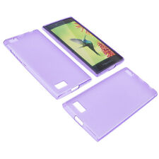 Case for Blackberry Leap Cell Phone Pocket Cases TPU Rubber Case Purple