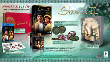 Limited Run Shenmue III 3 Collector's Edition PS4 Physical Region Free USA