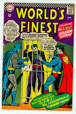 JERRY WEIST ESTATE: WORLD'S FINEST COMICS #156 (DC 1966) VG condition Joker!