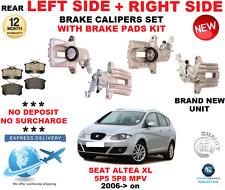 para SEAT ALTEA XL 5p5 5p8 MPV 2006 > eje trasero dcho. O izdo. + derecho