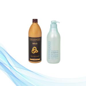 COCOCHOCO Keratin Treatment Gold 1000 ml + Clarifying Shampoo 1000 ml